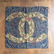 CHANEL / Vintage / 50's~60's France / Silk Stole