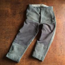 Vintage / Used / 50's France / Cotton Pique pants