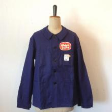 Vintage/ Deadst/ France 50's/ A・L/ Indigo Coverall