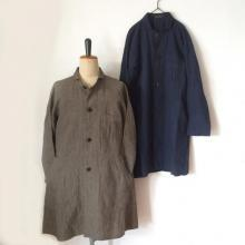 DjangoAtour/ANOTHERLINE/CLASSIC FARMERS LINEN COAT