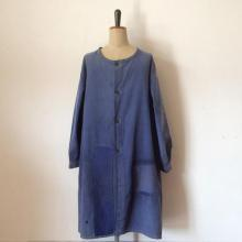 Vintage / 30's France / indigo hb Work coat