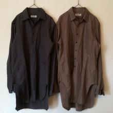 Django Atour / ANOTHERLINE / GLENCHECK LONG SHIRT