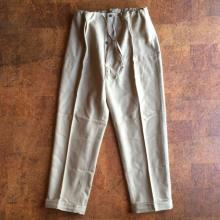 Dead stock / 60's Italy / easy slack wool pants