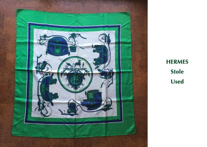 HERMES / Stole / Used
