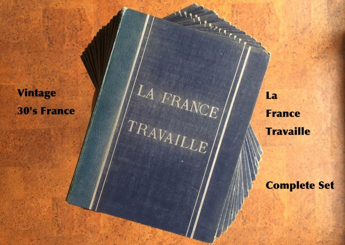 Vintage / 30's / La France Travaille / Complete set
