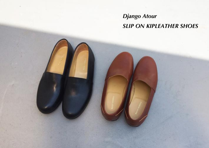Django Atour / SLIP ON KIPLEATHER SHOES