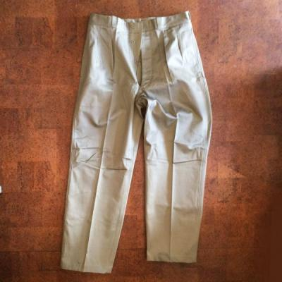 Vintage /Deadstock /60's France /French Army Chino