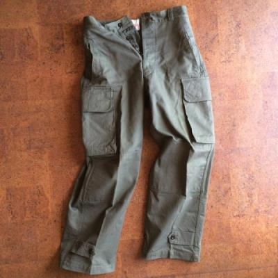 Vintage/Deadstock/40〜60's France/M-47 Cargo pants
