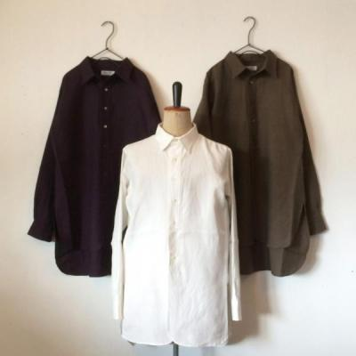 DjangoAtour/ANOTHERLINE/CLASSIC LINEN TAILOR SHIRT