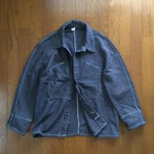 Vintage / 50's France / FRENCH WORK WOOL SHIRT