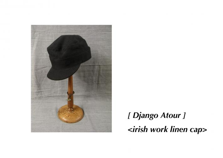 Django Atour / irish work linen cap