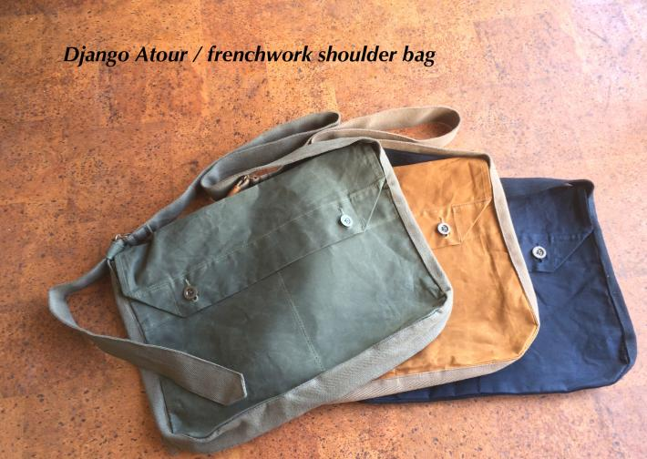 Django Atour / frenchwork shoulder bag